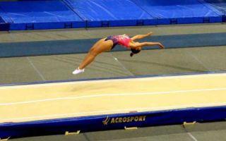 Как научиться акробатическим прыжкам?