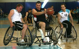 Какие правила баскетбола на колясках?