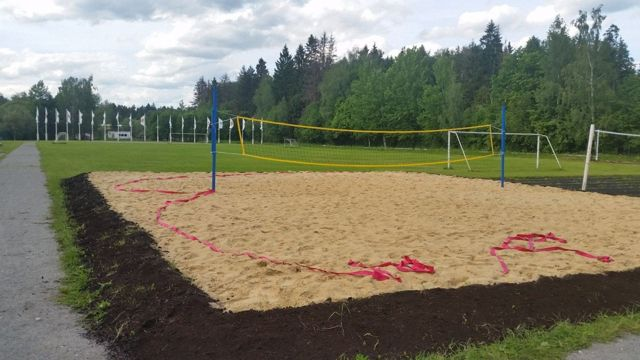 Размер площадки для пляжного волейбола, как сделать волейбольное поле по стандарту своими руками, набор оборудования для игры