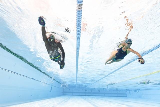 Программа тренировок по плаванию средний уровень - комплекс специальных упражнений.