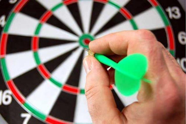 Дартс: правила игры для начинающих, как метать дротики, как играть в Большой раунд, круг, Сектор 20 с утроением, установка мишени
